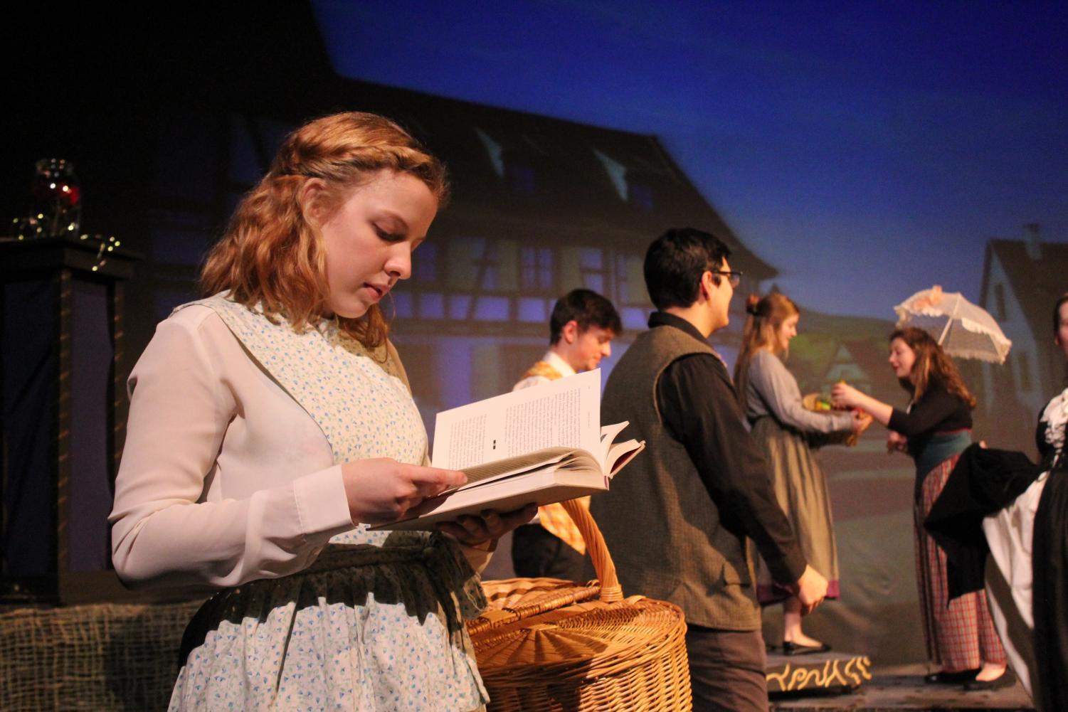 """Faye Duster ('22) played Belle in SPIN Theatre's 1440 Minute Musical production of """"Beauty and the Beast."""""""