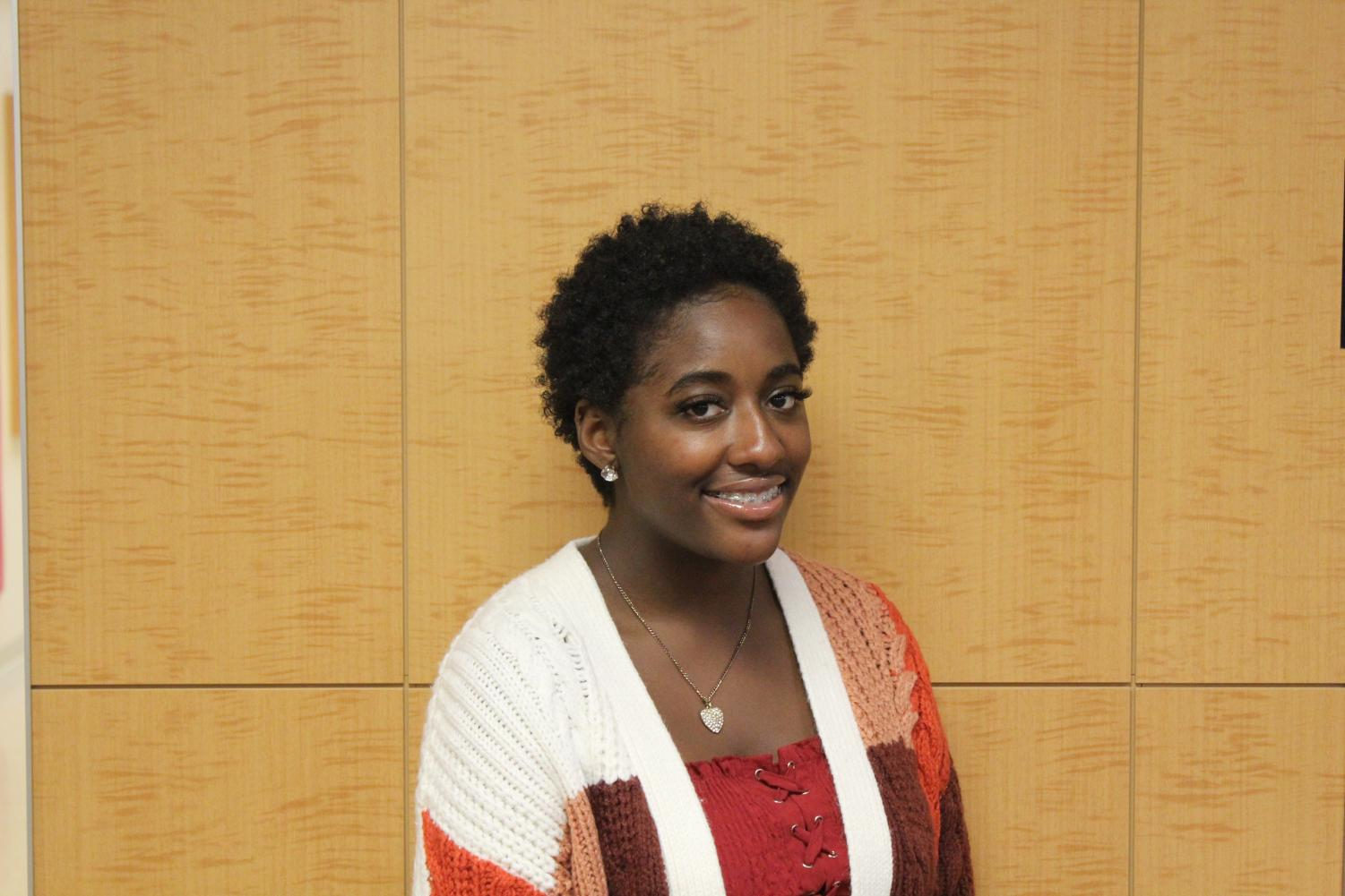 Diamond Jenkins ('19) is admired by her peers for her authenticity, service and perserverance.