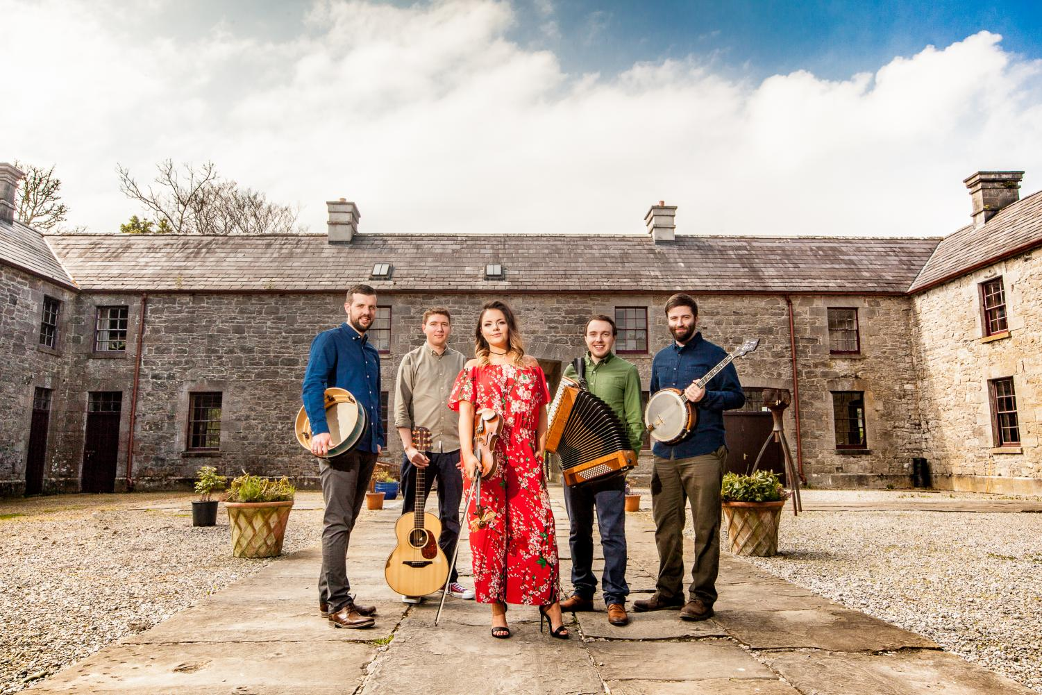 Goitse prides themselves on their ability to play traditional Irish music as well as write original compositions.