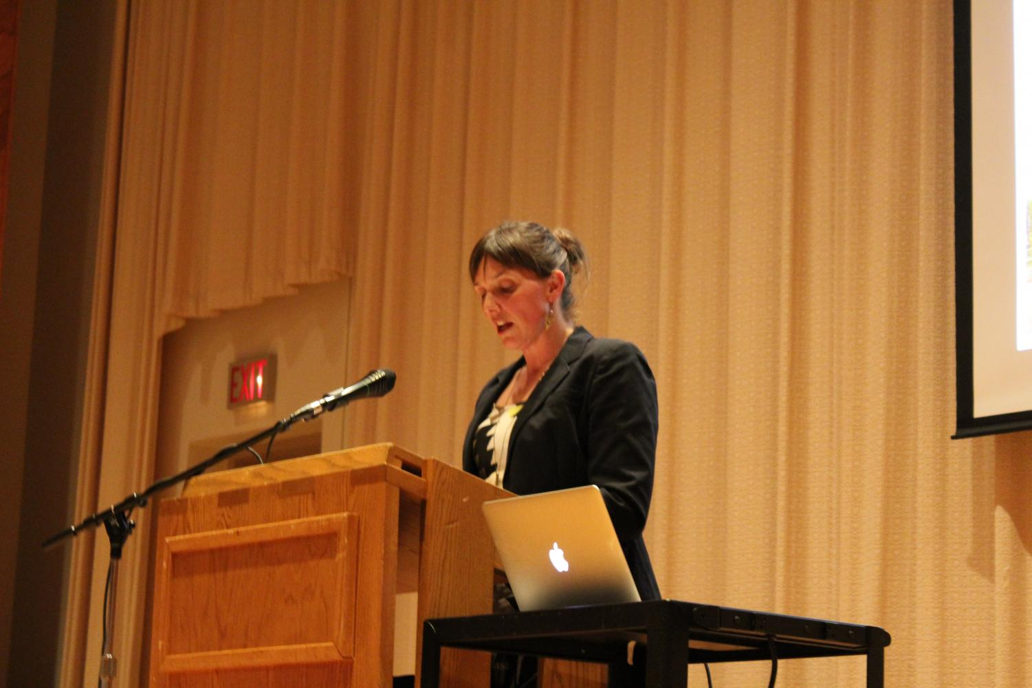 Associate Professor of Art History Kate Elliot presents her Paideia Text and Issues Lecture on finding the Hjemland.
