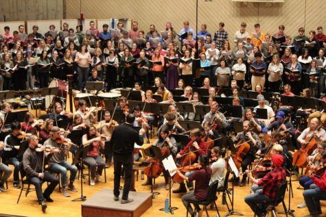 Music department comes  together for Spring Oratorio