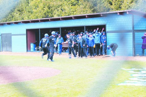 Baseball sweeps Central 3-0
