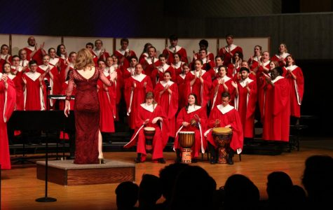 Collegiate and Cathedral share homecoming concerts with the Luther community