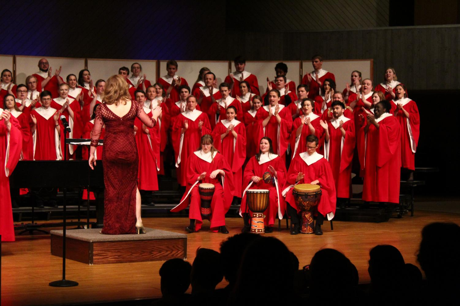 "Collegiate Chorale presented their homecoming concert centered around the theme of ""Legacy."""