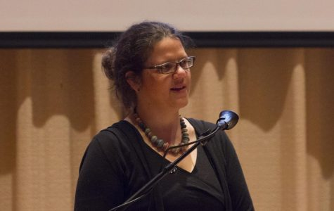 Drews delivers the last Paideia lecture