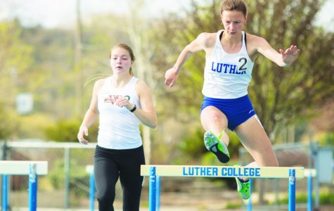 Track and Field duels Wartburg in dual meet