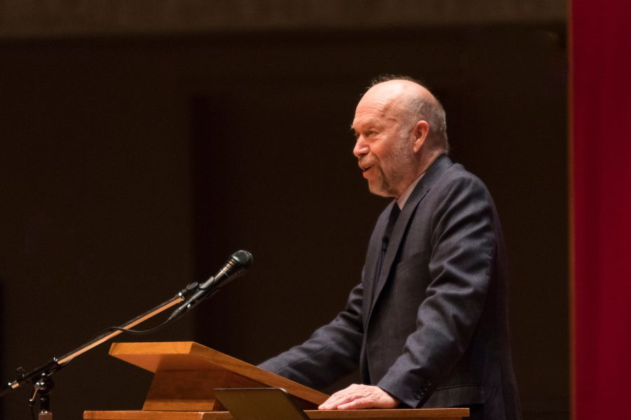 Professor+of+climate+science+at+Columbia+University+James+Hansen+speaks+about+strong+actions+needed+to+address+climate+change.