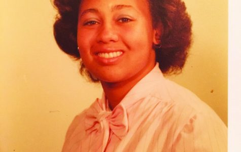 Joan Harper ('82) during her senior year at Luther.