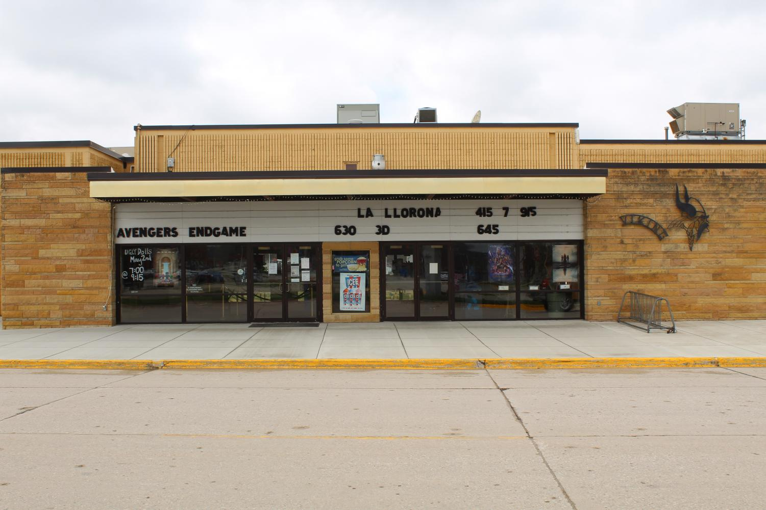 Fridley Theatres Viking 3 is located in downtown Decorah.