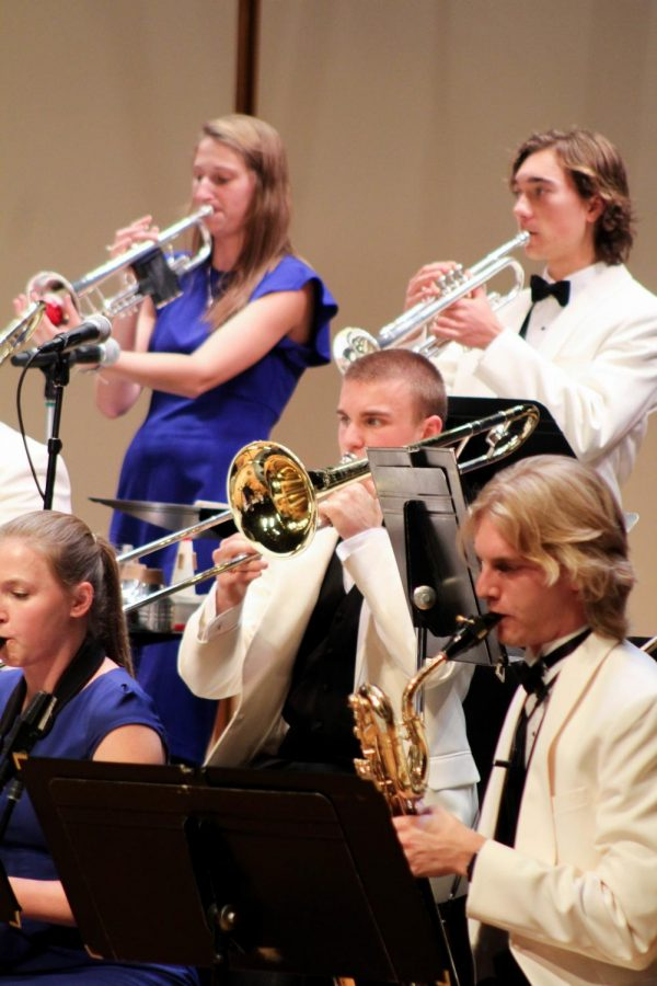 Luther College Jazz Orchestra participated in their spring tour April 11-14 before performing their homecoming concert on April 16.