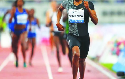 Caster Semenya won the 800-meters in 1:54.98 at the Diamond League Meeting in Doha, Qatar on May 3, 2019.