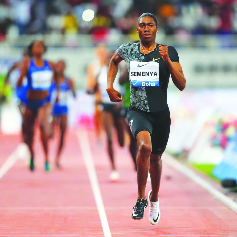 Women in Motion: Caster Semenya