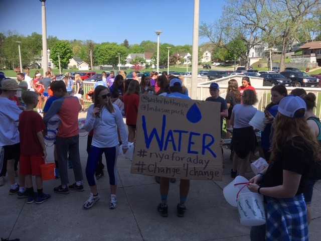 The+Walk+for+Water+brought+people+from+the+Decorah+and+Luther+communities+together+to+raise+money+for+Water+to+Thrive.