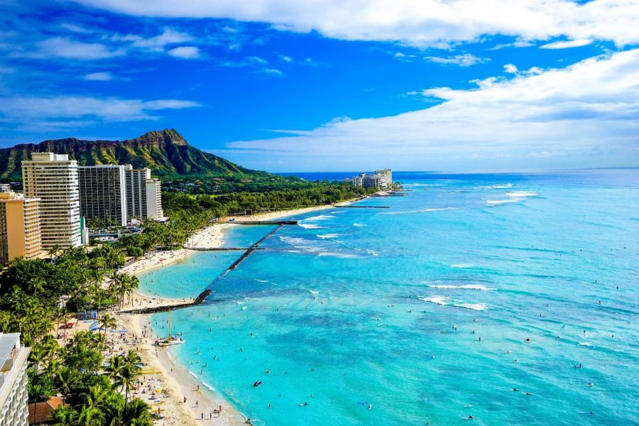 Luther+students+traveled+to+the+island+of+Hawai%E2%80%98i+and+Oahu+in+Hawai%E2%80%98i+to+study+multiculturalism+in+education+during+J-term+of+2019.%09