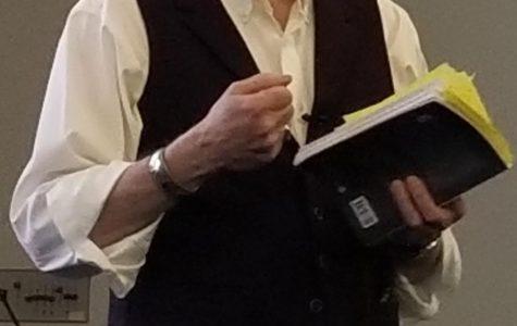 David Faldet ('79) gives reading of his new book,