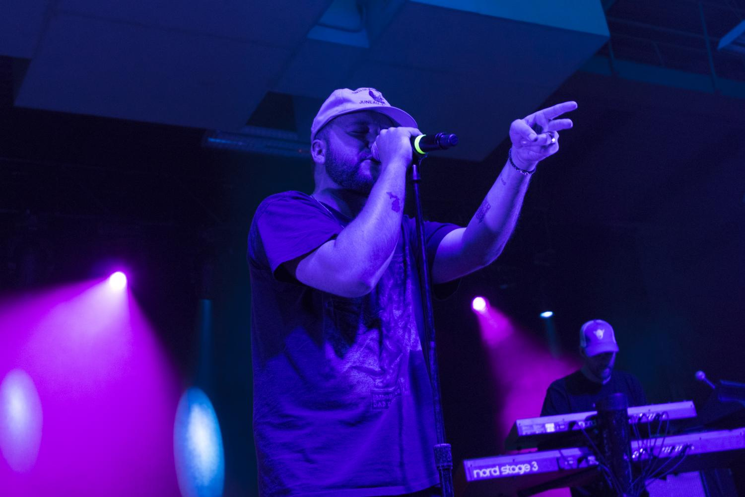 Quinn XCII performs for the call concert in Regents Center.