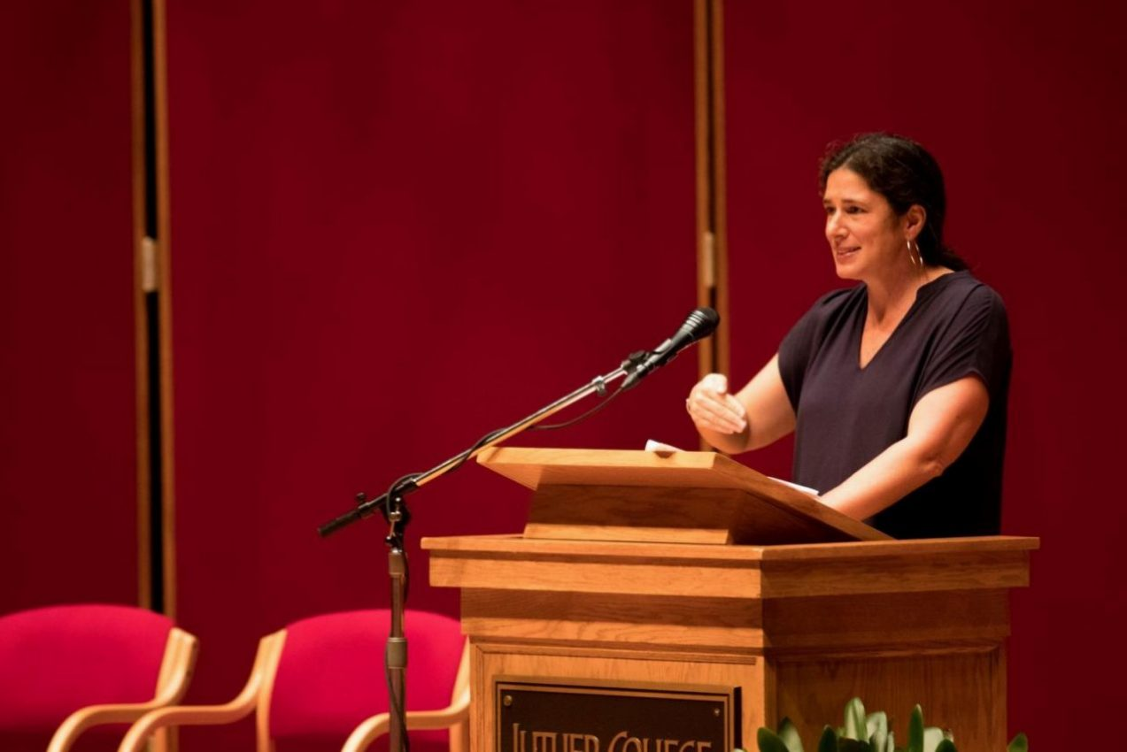 Rebecca Traister spoke about the power of womens anger.