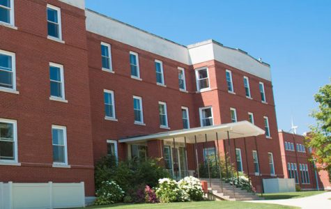 Larsen Hall is one of the housing options for upperclassmen that does not have an elevator.
