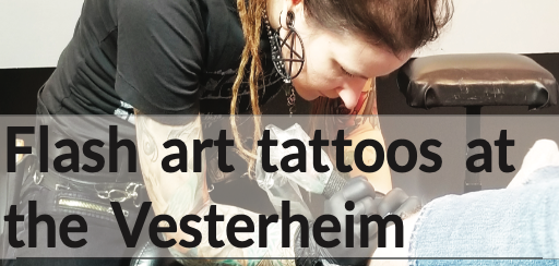 Flash art tattoos at the Vesterheim