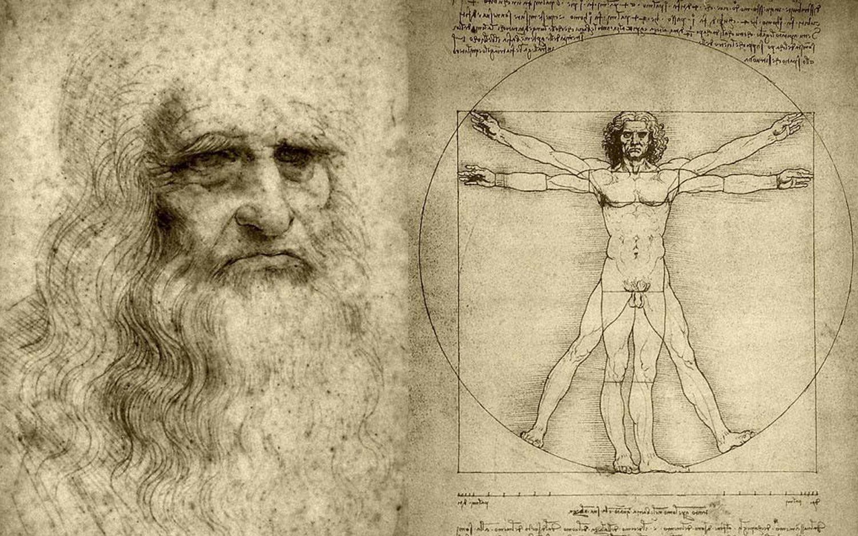 Hagen was inspired by Leonardo da Vinci's sketches and ideas in his notebooks.