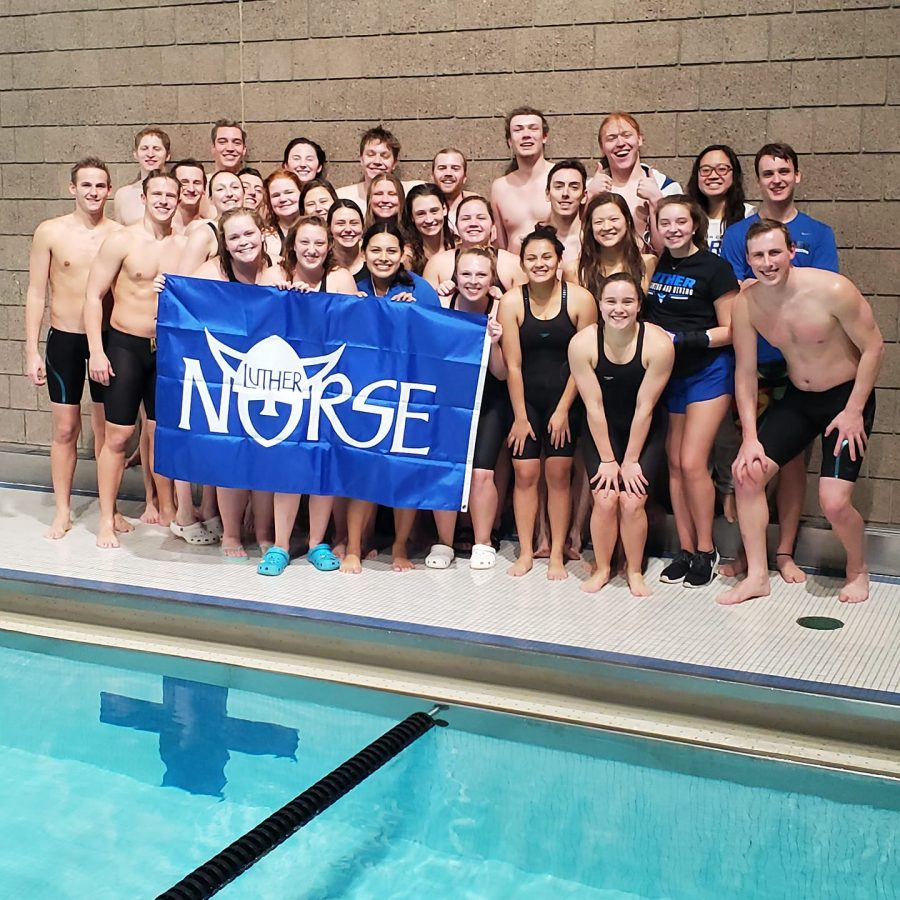 The+Swim+and+Dive+teams+finished+out+their+season+at+the+Liberal+Arts+Championship.