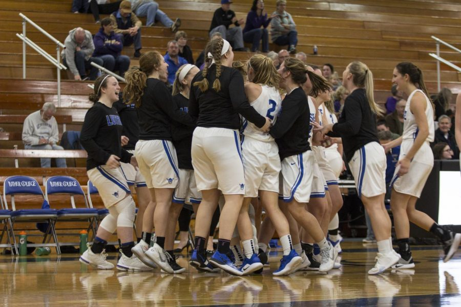Luther College won an overtime contest against Coe College.