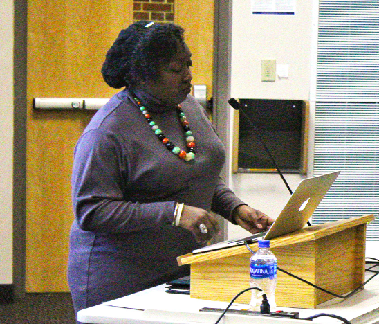 Terrion Williamson's lecture was sponsored by Africana Studies, College Ministries, the English Department, and the Diversity, Civility, and the Liberal Arts Institute.