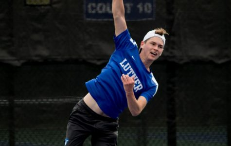 Men's Tennis Team loses three matches at Lake Geneva