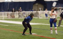 Luther Softball sweeps Rochester dome games