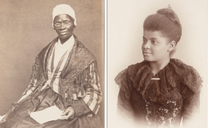 Sojourner Truth and Ida B. Wells were key figures in the black women's suffrage movement.