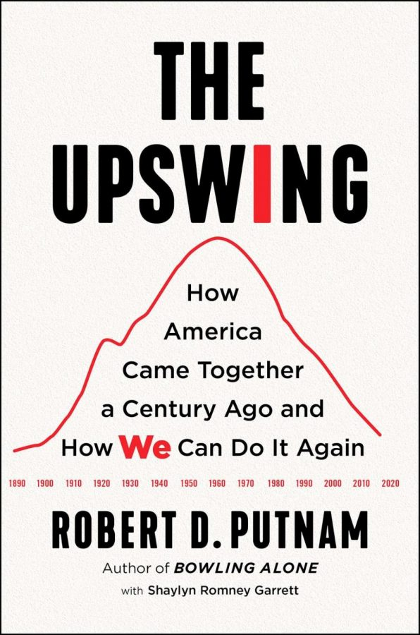 "Cover of ""The Upswing"" that Lifelong Learners studied for this seminar. Photo courtesy of Amazon."