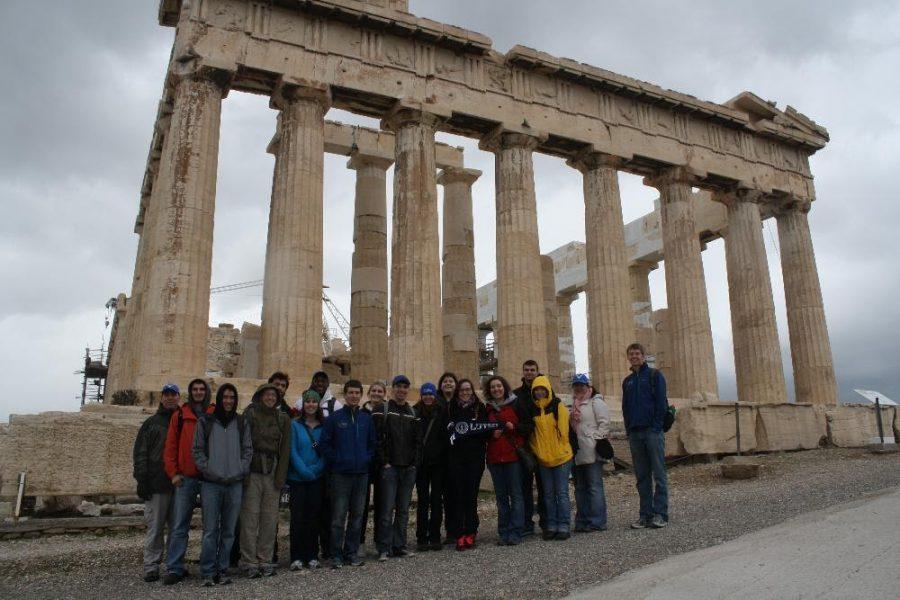 Ancient Greece J-Term.