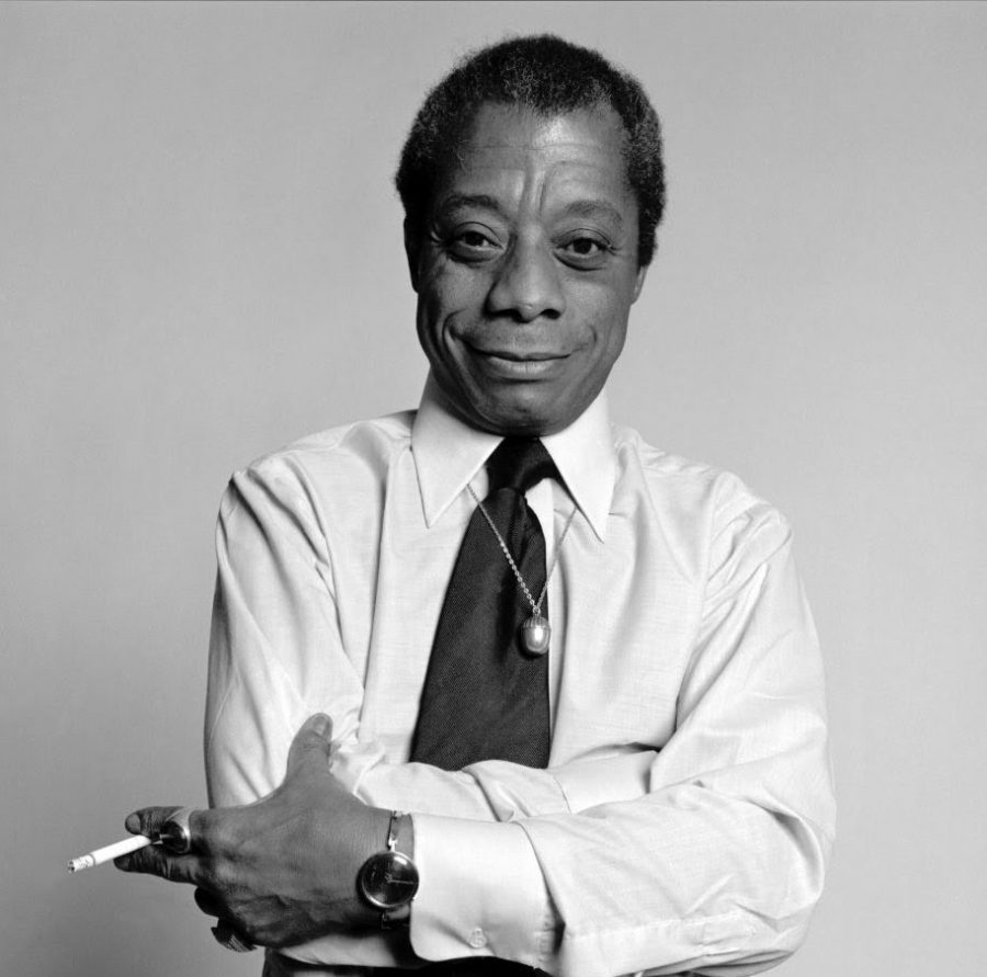As a gay Black man, Baldwin carried an underrepresented perspective of life in the United States during the volatile social climate of the mid-twentieth century.  Photo courtesy of Parade.com (https://parade.com/1080852/breabaker/james-baldwin-quotes/)