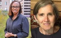 Sandra Henry (Left) and Susan Crate (right) will deliver lectures virtually during Climate Justice Week.