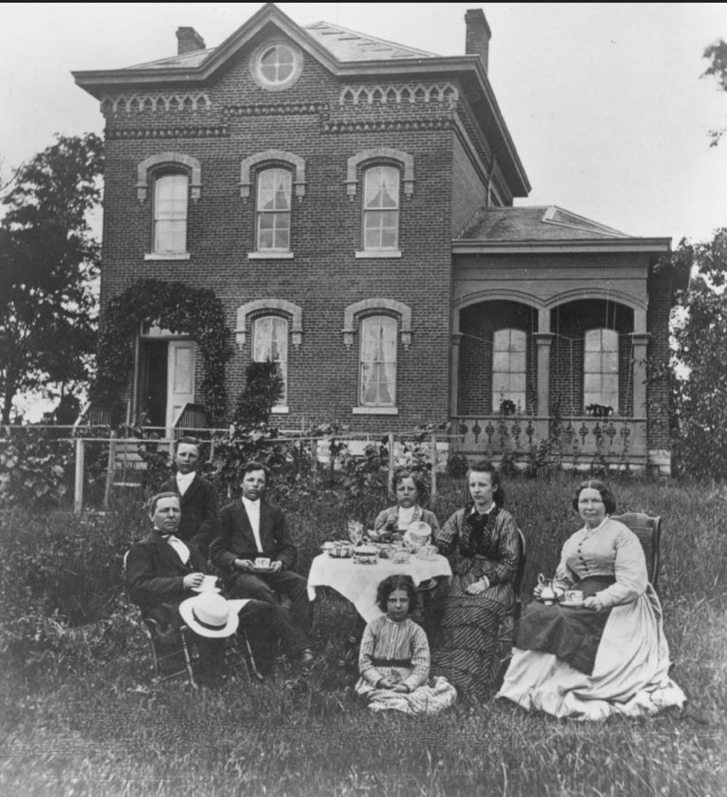 Campus House as featured in the Luther College archives. Photo courtesy of Luther College.
